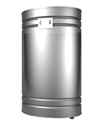 Бак навесной 80л, вертикальный