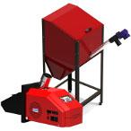 Автоматическая пеллетная горелка с бункером BP-25