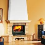 Облицовка Beaurivage SR, желтая, с каменной балкой