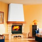 Облицовка Beaurivage SR, желтая, с деревянной балкой