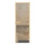 Дверь стеклянная (бесцветная матовая), ручка магнит