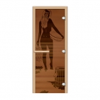 Дверь стеклянная