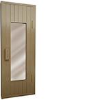 Дверь банная со стеклом