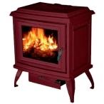 Печь Charleston C2-01, бордовый, эмаль