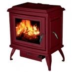 Печь Charleston C2-02, бордовый, эмаль