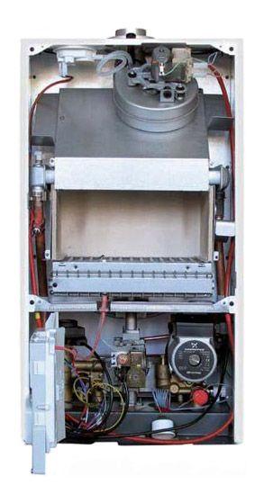 настенный газовый котел с медным теплообменником